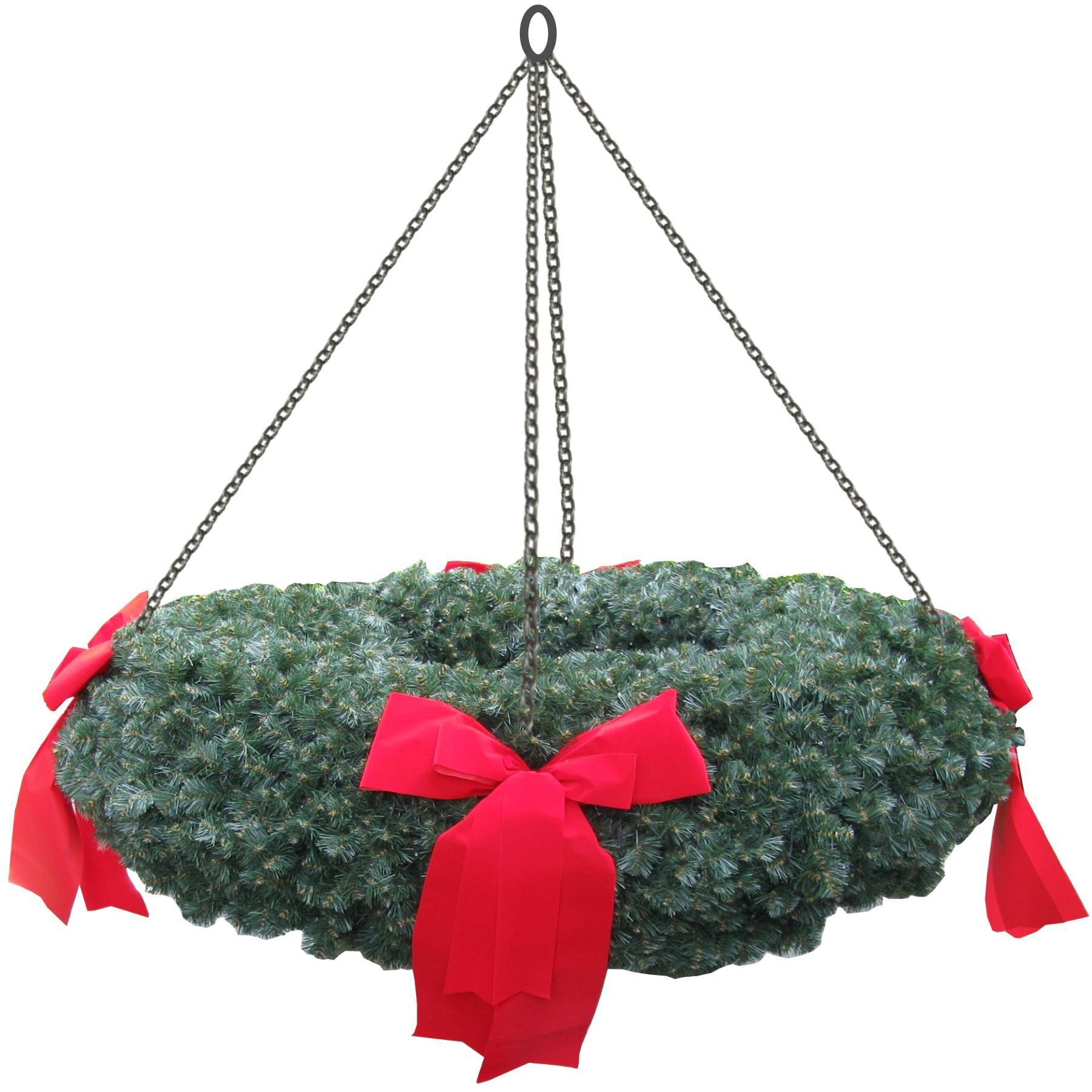 adventskranz mit 200cm durchmesser weihnachtsbaum. Black Bedroom Furniture Sets. Home Design Ideas