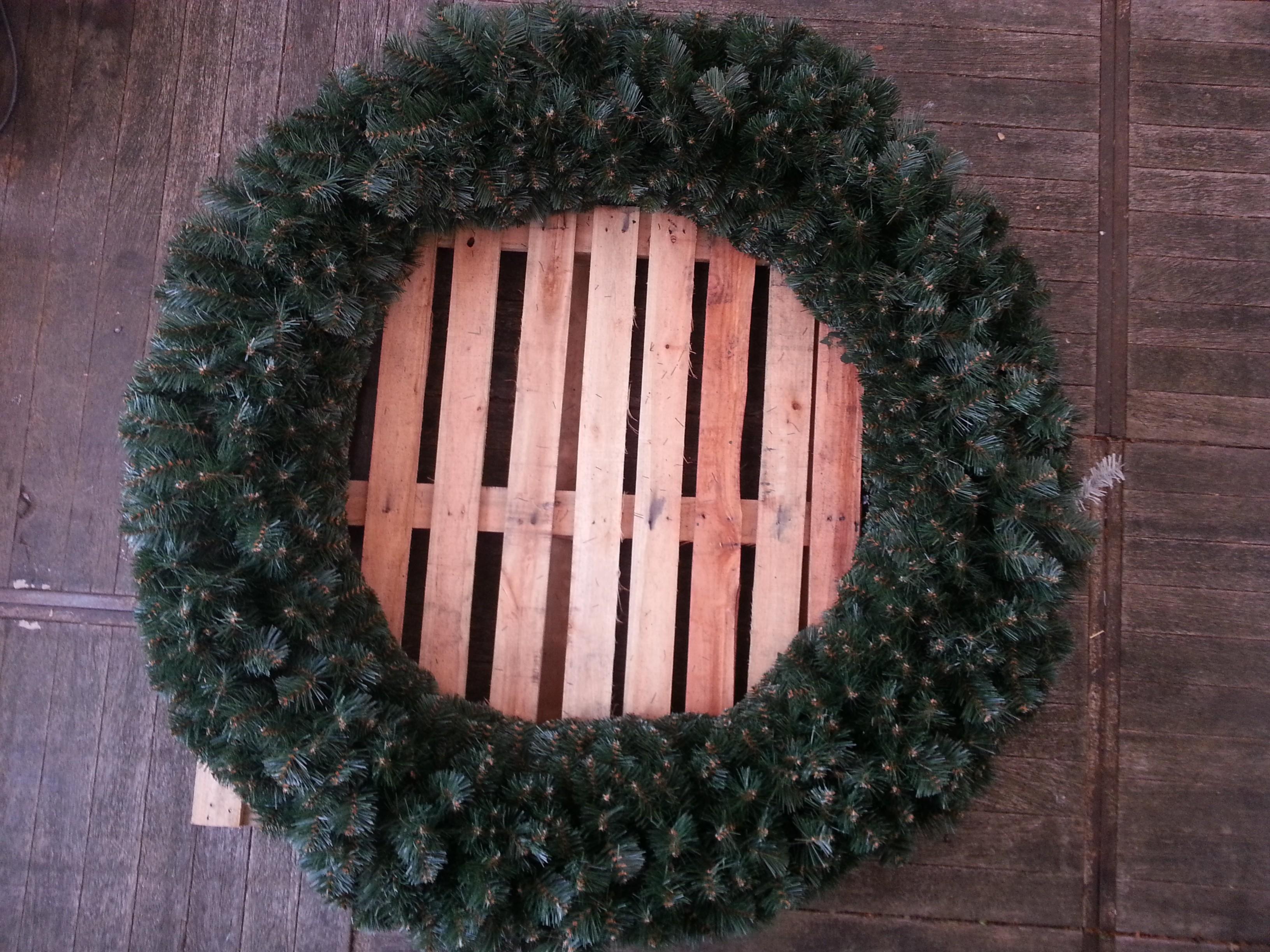 Durchmesser Weihnachtsbaum.Adventskranz Mit 200cm Durchmesser Weihnachtsbaum Hamburg Com